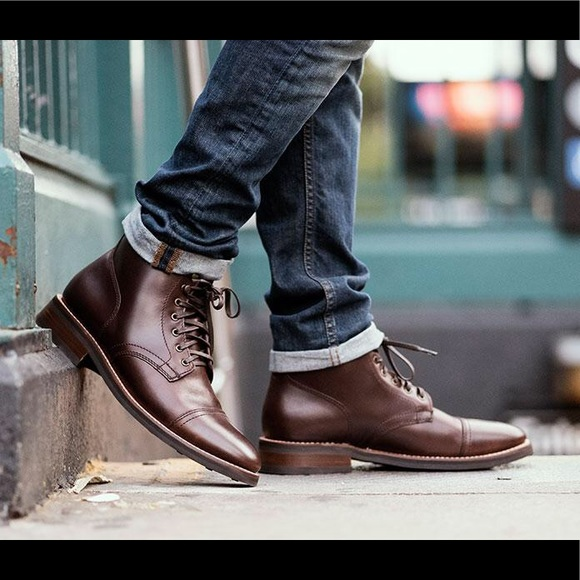 702b7063629f Thursday Boot Co. Handcrafted Leather Captain Boot.  M 5a36bd11daa8f6b1e40143e1